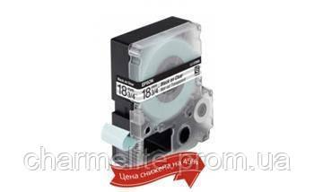 Картридж с лентой Epson LK5TBN принтеров LW-400/400VP/700 Clear Blk/Clear 18mm/9m
