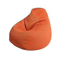 Original (Ориджинал) бескаркасное кресло-груша рогожка