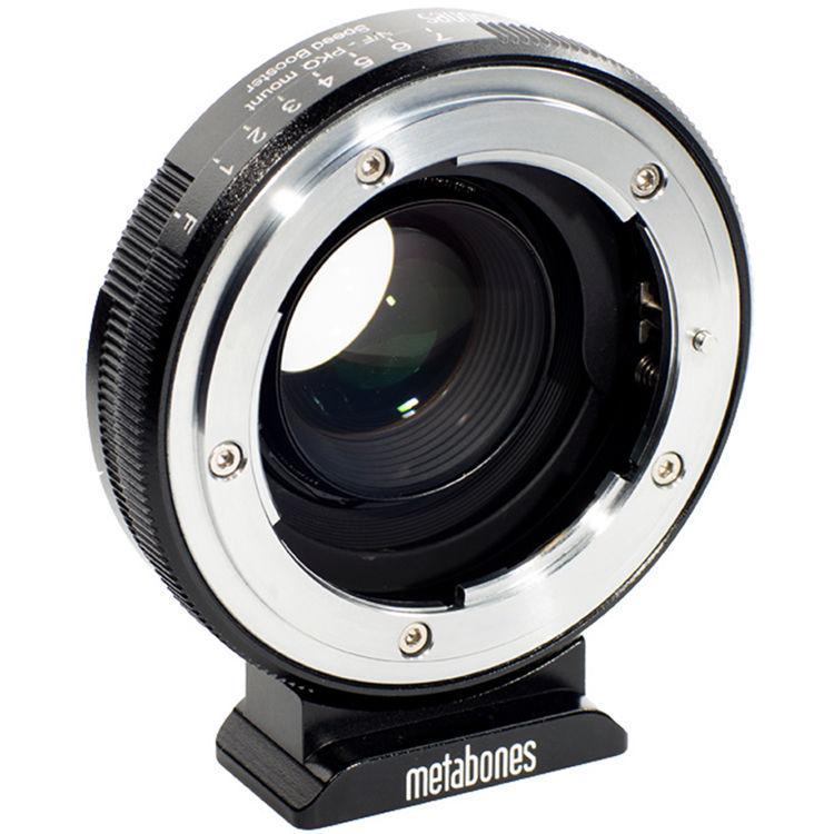 Metabones Nikon G-Type F Lens to Pentax Q-Mount Camera 0.5x Speed Booster (MB_SPNFG-Q-BM1)