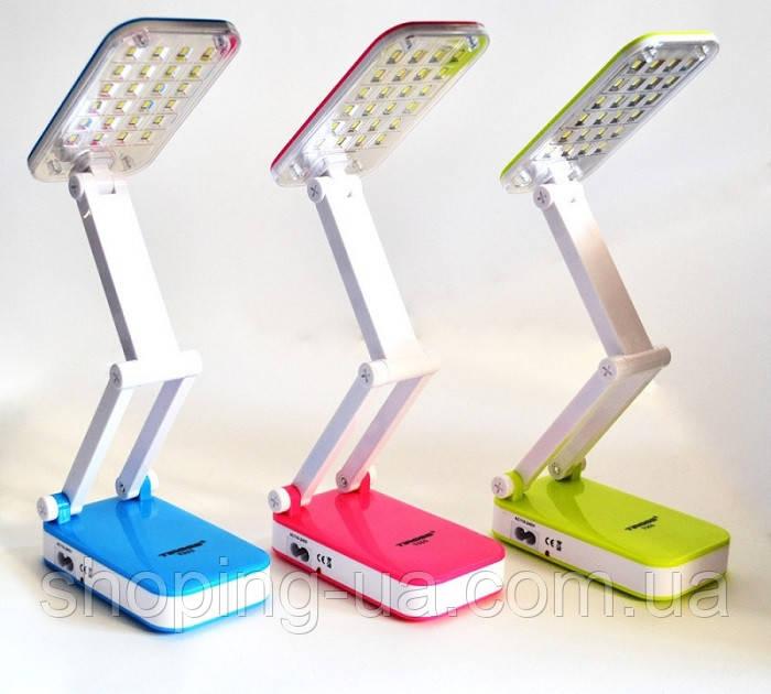 Настольная аккумуляторная лампа-трансформер Tiross TS55