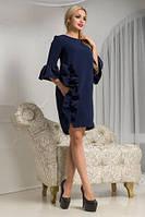 Платье синего цвета Варьете
