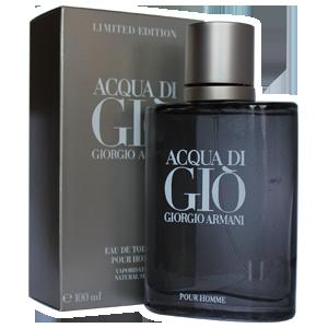Мужская туалетная вода Armani Acqua Di Gio Pour Homme (Армани Аква Ди Джио Блек пур Хом)