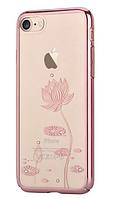 Чехол Devia Crystal Lotus IPHONE 7Plus/8Plus (Black), фото 1
