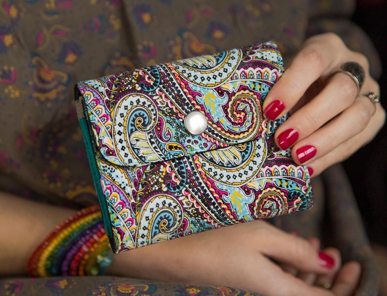 af7bb757b3b8 Женский кошелек ручной работы необычного цвета «Тысяча и Одна Ночь» -  Патриотический интернет-