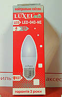 LED лампа ECO 35Вт  С37/4W/E27/4000К