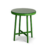 Бейсик круглый столик из ротанга