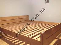 Кровать двуспальная деревянная из Ольхи 1800 х 2000 мм