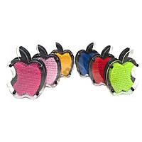 Гвозди ART-PIN Яблоко M пластик 22х15 см разных цветов