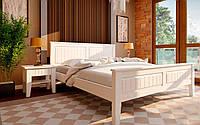 Кровать деревянная Глория из натурального дерева двуспальная, фото 1