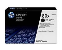 Картридж HP 80X LJ M425/M401 Black (2*6900 стр) Двойная упаковка