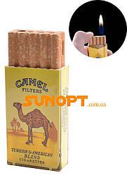 Зажигалка карманная Camel (обычное пламя) №2154-2