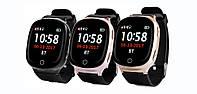 Умные GPS-часы WONLEX EW100S (S200) с пульсометром, телефоном и кнопкой SOS