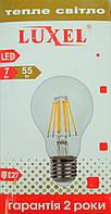 LED лампа (filament) 55Вт  А60/7W/E27/2700К