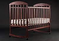 Детская кроватка Наталка Ольха темная 20003 *бр