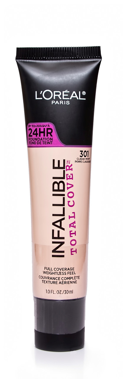 Тональный крем для лица L'Oreal Infallible Total Cover 24HR Foundation 30 ml.