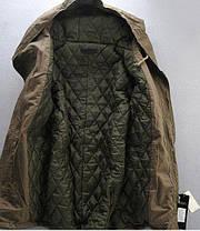 Стильная зимняя мужская парка пальто с капюшоном, фото 3