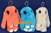 Мягкая игрушка-брелок Кролик Глазастый №YL-24
