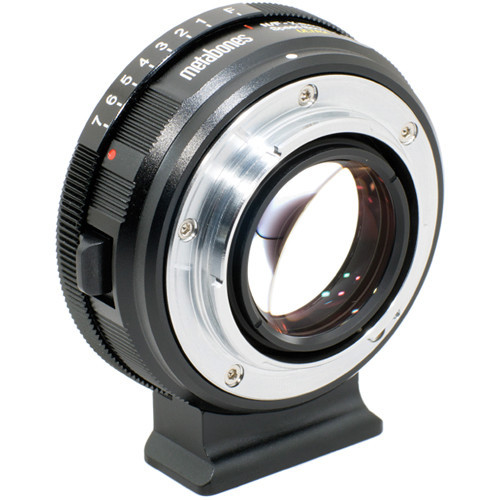 Metabones Nikon F-Mount G Lens to Fujifilm X-Mount Camera Speed Booster ULTRA (MB_SPNFG-X-BM2)