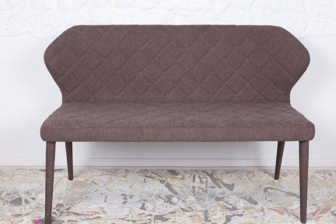 Кресло - банкетка VALENCIA Nicolas  (Валенсия),  текстиль -  коричневая