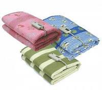 75Х1,55 СМ. Простынь. Одеяло. Электропростынь одинарная. Полиамид(байка, пушистая), размер 75х1,55