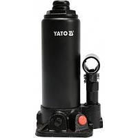 Домкрат гидравлический бутылочный 3т, h 194-374 мм, YATO YT-17001