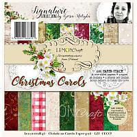 Набор скрапбумаги от LemonCraft - Christmas Carols, 15,24x15,24 см, 170 г/м2, 36 листов