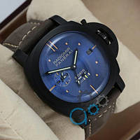 Часы Panerai Luminor 8 Days Grey/Black/Blue AAA
