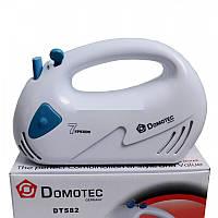 Ручной миксер с насадками DOMOTEC DT-582, 7 скоростей