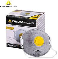 Респиратор маска Delta Plus M1200VWC, FFP2  Угольый. Сварка, Химия, Краска.