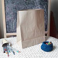 Бумажный пакет без ручек 800, 380х320х150 мм