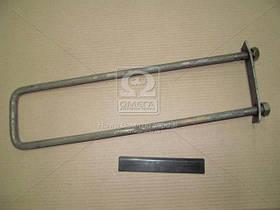 Стремянка кузова КАМАЗ-5320  длинная  h=480x14x1.5мм ( в сборе с гайками и площадкой) (арт. 5320-8521082 СБ), ACHZX