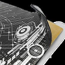 Вибродемпфирующий самоклеющий лист PRACTIK 3,0мм (470х750мм)