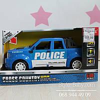 Игрушка Машина на батарейках Скорая Помощь, Полиция, Пожарная: свет, звук в открыт коробке 24*12*10см