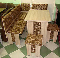 Кухонный уголок Аристократ: раскладной стол, два табурета. Честная цена!