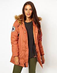 Куртка Alpha Industries (Аляска) ALTITUDE W PARKA Red