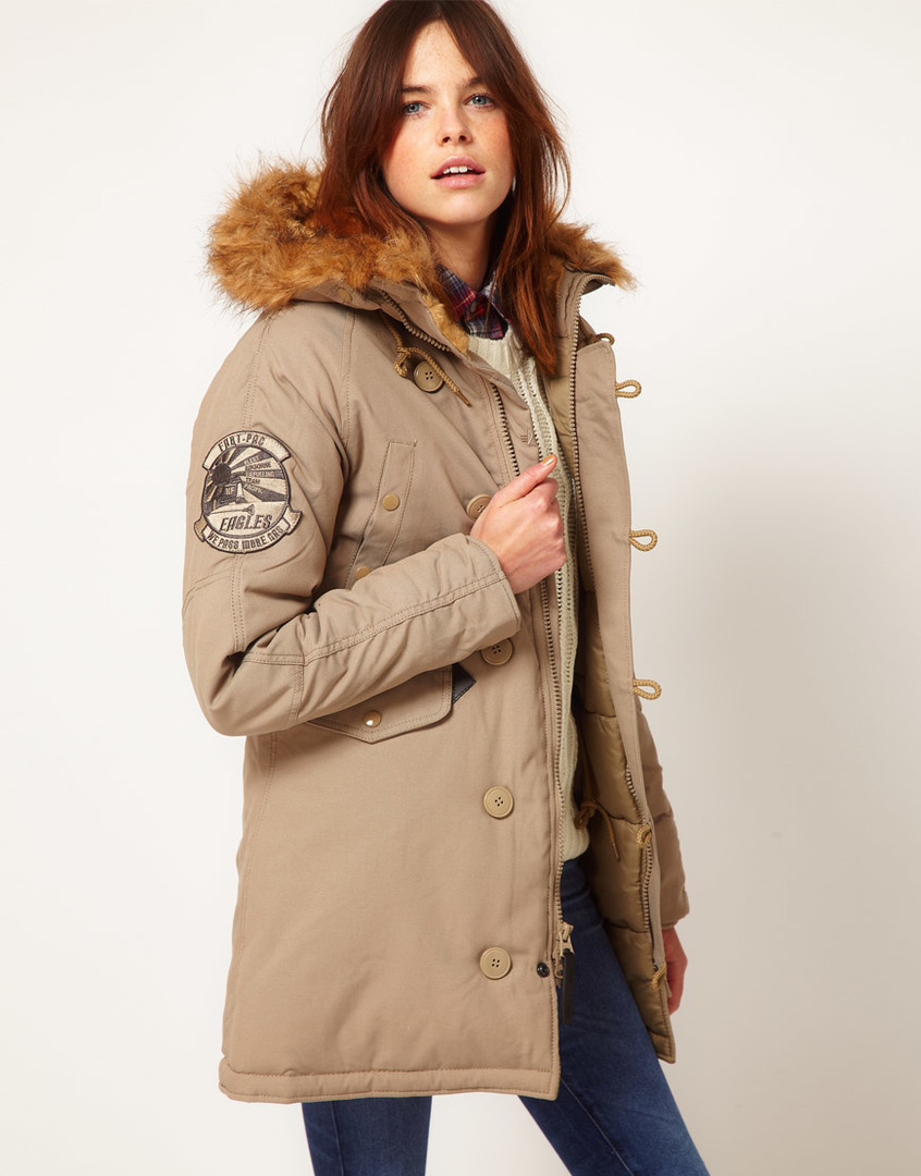 Куртка Alpha Industries (Аляска) ALTITUDE W PARKA Khaki