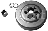 Звезда ведущая ,(тарелка сцепления), для бензопил Rebir3816, Maxcut3816,Talon3816,MacCuloch