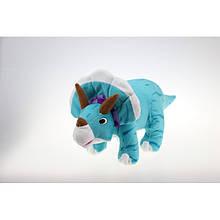 Интерактивная мягкая игрушка Трицератопс