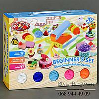 Набор Тесто для лепки Сладости аналог Плей До в коробке
