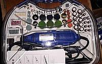 Шлифовальная машина, гравер, мини болгарка RoncXin (гибкий вал + расходные материалы)
