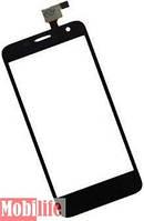Сенсорное стекло (тачскрин) для Alcatel One Touch 6012X Idol Mini Sate черный