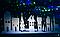 """Новорічна наклейка на вікно """"Зимове місто"""", фото 4"""