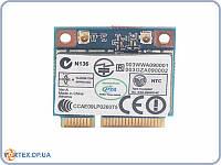 Сетевая карта AR5B95 Wifi модуль для ноутбука HalfSize Qualcomm Atheros AR5B95 802.11 b,g,n , 150Mbps