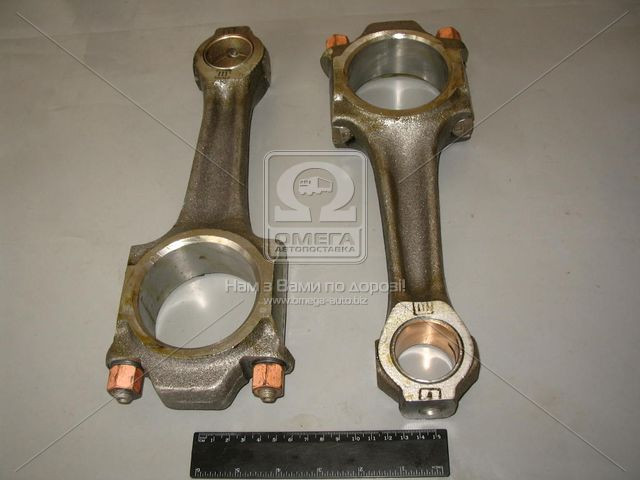 Шатун Д 260 под палец поршня D=38 мм (производство ММЗ) (арт. 260-1004100-Д-01), AGHZX
