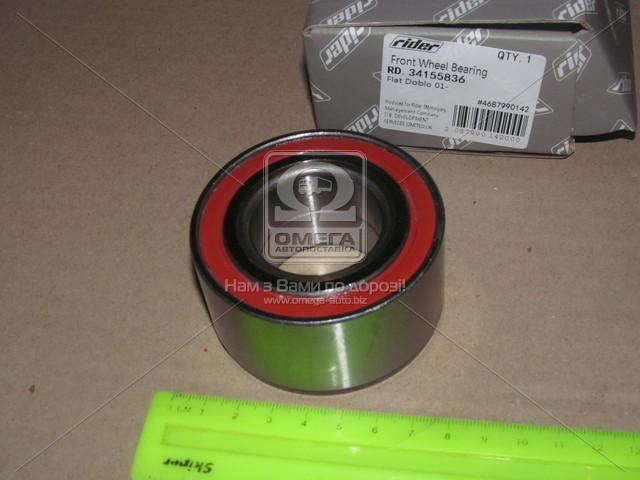Подшипник ступицы FIAT DOBLO 01-  передн. (без Ремкомплект) (RIDER) (арт. RD.34155836), AAHZX