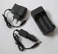 3 в 1! Зарядное устройство для аккумуляторов 18650 Код:475252641