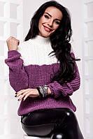 Теплый зимний свитер Ненси