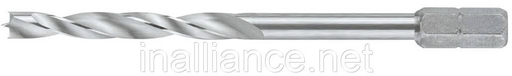 Спиральное сверло-бит по дереву 5,0 x 85 мм форма C 6,3 Wiha 27877