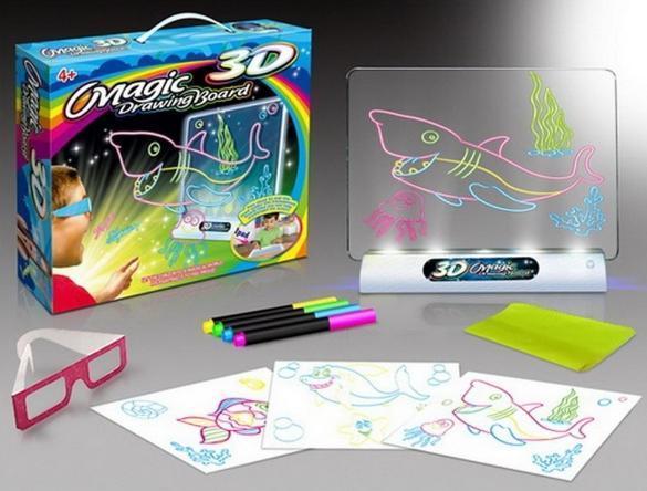 Доска 3D для рисования 4 в 1