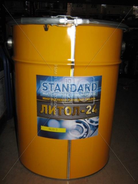 Смазка Литол-24 Standard (Ведро 20л/ 17кг)  (арт. Standart), AFHZX
